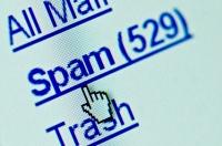 Spam e-mail folder